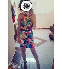 Svečana cvjetna haljina