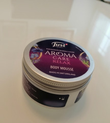 JUST AROMA CARE RELAX, body mousse NOVO!!!