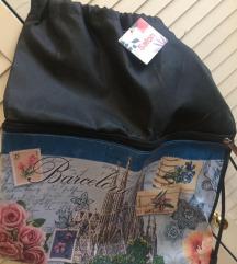 suvernir torba iz barcelone novo s etiketom