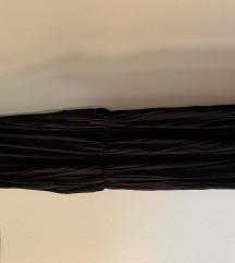 Zara crna duga haljina