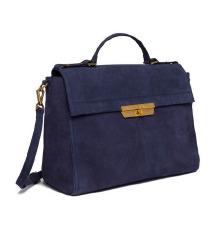 Nova Replay plava torba od brušene kože