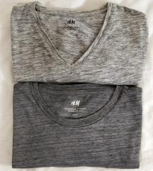 H&M 2 muške sive majice - veličina M