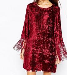 Asos Velvet Swing Dress