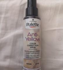 Schwarzkopf Anti yellow sprej za kosu