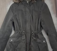 H&M Zelena jakna (parka)