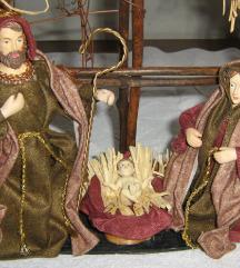 Božićne jaslice ručni rad unikat sniženo!