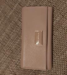 Kožni rozi novčanik