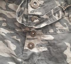 Vojnička suknja sa tregerima