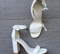 NOVO / MANGO sandale - prava koža