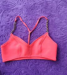 H&M neon rozi top