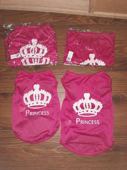 Majica za psa ili macu. Princess s-m