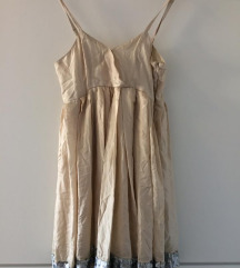 Miss Selfridge metalik haljina