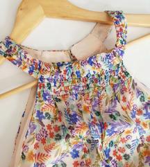 ZARA haljina 100% svila XS