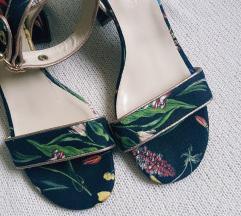 🖤 GULIVER NOVE KOŽNE cvjetne sandale 40