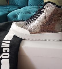 Tenisice srebrne McQ