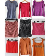 9 majica-LOT