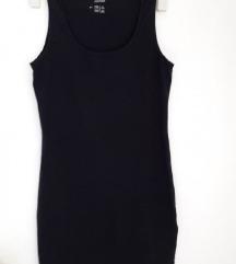 Ljetna crna haljina tunika 40/42