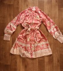 Šarena etno roza haljina / slanje uključeno