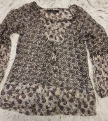 Ženska BOHO košulja 100% svila ZARA