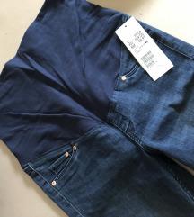 Trudničke hlače jeans