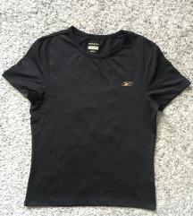 Original Reebok crna majica sportski top vel S