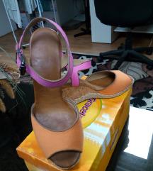 Narančasto-roza sandale