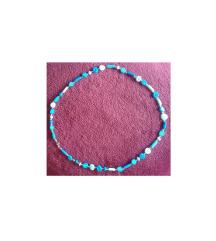 Lančić bijelo-plavi (kraći)