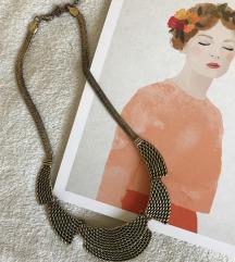 Ogrlica staro zlato