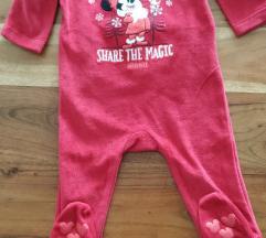Disney plišana božićna Minnie pidžama