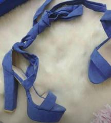 Plave sandale * pt uključ.
