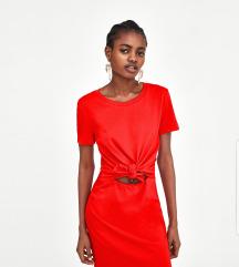 Nova Zara crvena mini haljina
