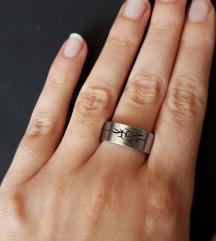 Prsten od nehrđajućeg čelika