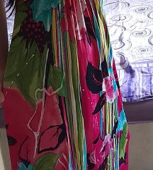 Šarena duga haljina