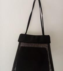 Crna prozirna torbica