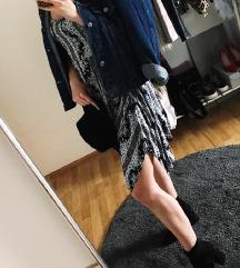 Boho asimetrična haljina