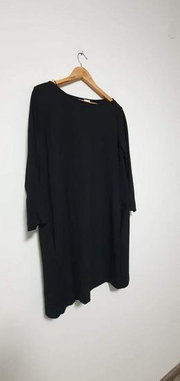 H&M crna haljina  s džepovima