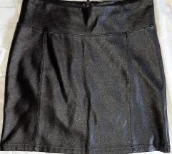 Sexy kožna suknjica M