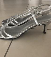 Ralph Lauren srebrne sandale AKCIJA