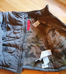 Zimska jakna 6-9 mj +kapa