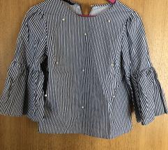 Zara bluza s perlama