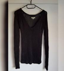 Mrežasti knit pulover, 100% viskoza, kao novi