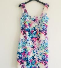 Šarena ljetna mini haljina vel S