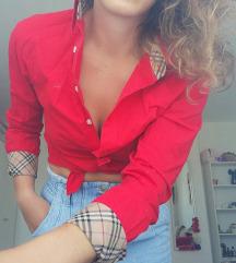 Burrberry crvena košulja