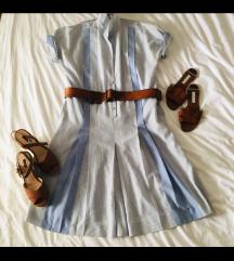Midi kosulja-haljina