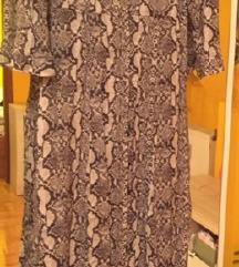 Zara haljina - zmijski uzorak