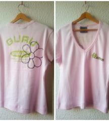 GURU nova roza majica s printom