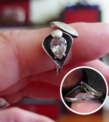 Prsten pravo srebro 925