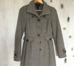 MANGO sivi kaput