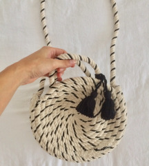 ZARA torba pletena -NOVO