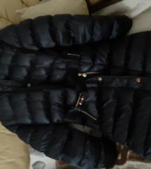 Talijanska zimska crna jakna